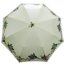 金德恩 夏日必備晴雨兩用抗UV刺繡傘