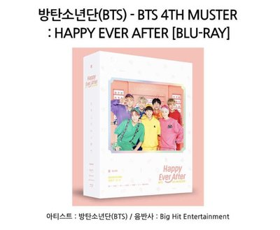🇰🇷✈️韓國代購正品 2018 BTS 防彈少年團 4th Muster Happy Ever After 藍光版