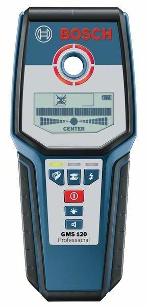 【含稅店】 贈9V電池 德國BOSCH博世 GMS120 牆體探測器 金屬探測儀器 精準分辨可測金屬 完勝GMS100