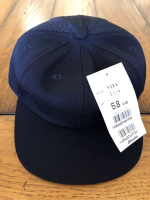 nippon colors 日本製 mizuno 棒球帽 球員 實戰