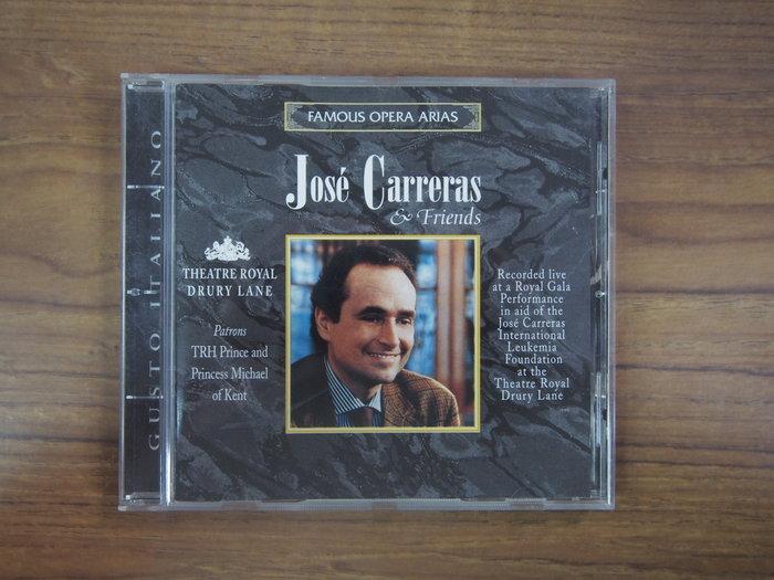 ◎MWM◎【二手CD】José Carreras 光碟歐版