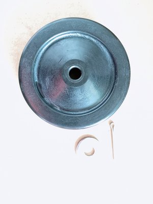 【勁力空壓機械五金】 ※ 天鵝 SVP - 201 SVP - 202 1HP 2HP 桶輪 附 插銷 墊片 空壓機零件