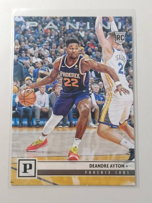 【NBA】季後賽爆強太陽Ayton,新人RC卡,2019 chronicles編年史Panini系列