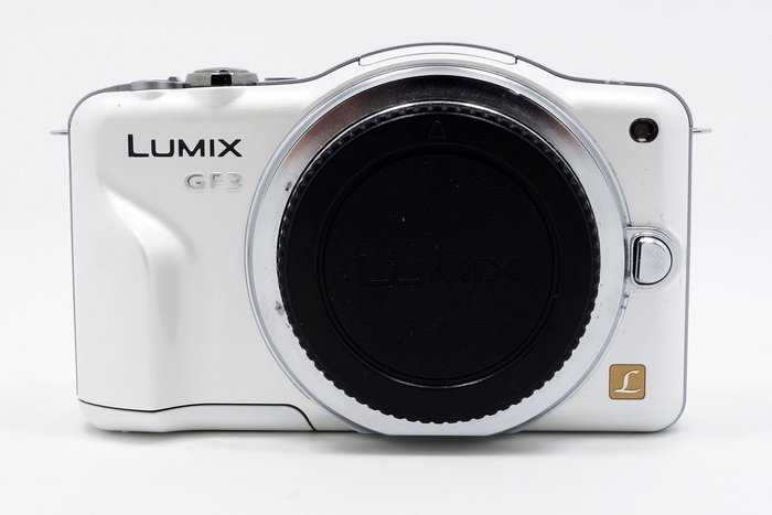 【台南橙市3C】 Panasonic Lumix DMC GF3 單機身 單眼 相機 GF3 # 50342