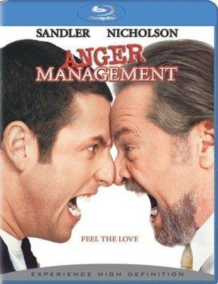 BD 美版【抓狂管訓班】【Anger Management】傑克尼克遜、亞當山德勒