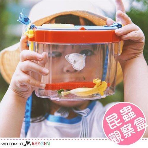 八號倉庫 兒童背帶式植物昆蟲觀察盒 收集盒 放大鏡【3A054M708】