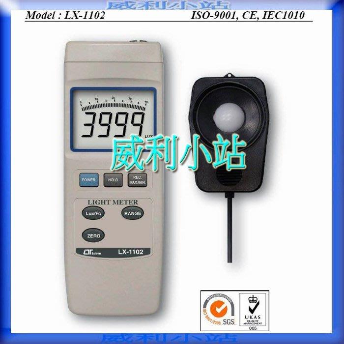 ~威利小站~~來電 ~Lutron LX~1102 智慧型照度計~ 電錶儀器 ~