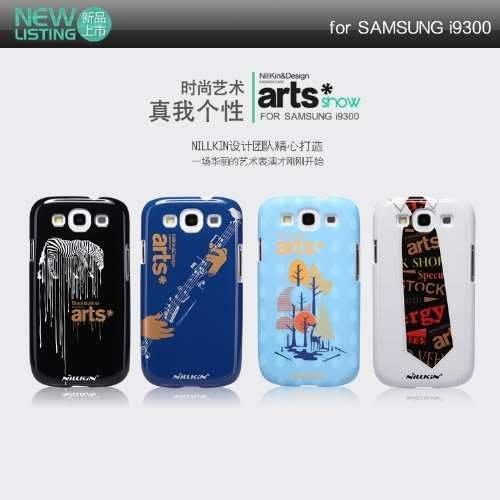 日光通訊@NILLKIN原廠 Samsung i9300 Galaxy S3 藝術秀主題保護殼 型護盾手機殼 背蓋硬殼~贈保護貼