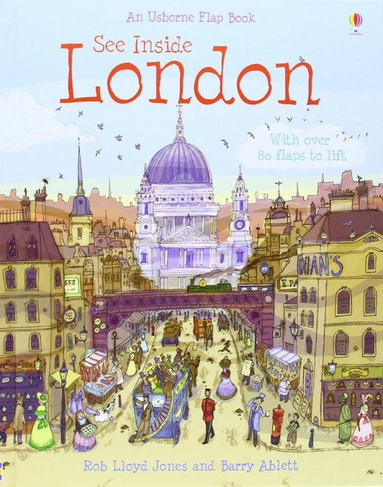 *小貝比的家*SEE INSIDE LONDON /精裝/7~12歲/世界文化