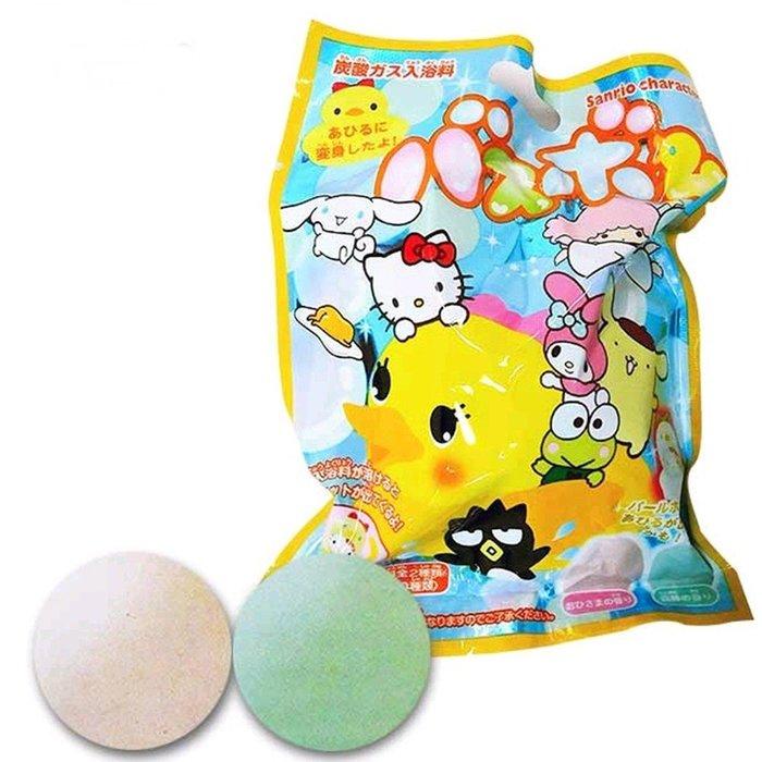 日本 Sanrio 三麗鷗系列角色 入浴劑
