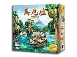 【陽光桌遊】(免運)馬尼拉 Manila 繁體中文版 正版 益智遊戲