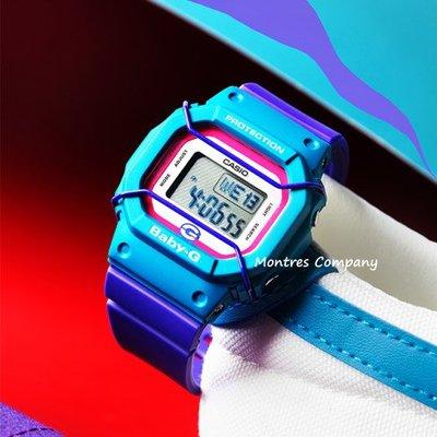 Montres Company香港註冊26年老店 卡西歐 CASIO  baby-g 25 週年紀念特別版 復刻版 復古風 紫藍色 BGD-525F-6 有現貨