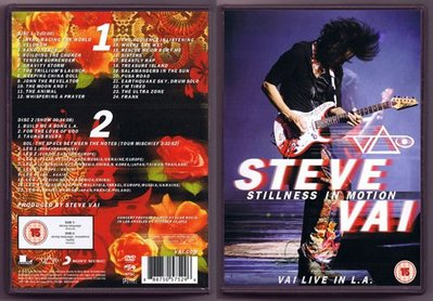 音樂居士#Steve Vai Stillness In Motion Vai Live In LA 2015 (2) DVD