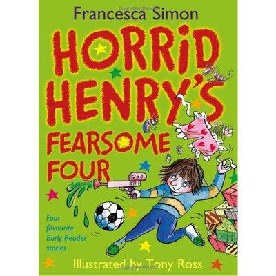 [邦森外文書] 全新現貨 Horrid Henry's Fearsome Four (Early Reader) 精裝本
