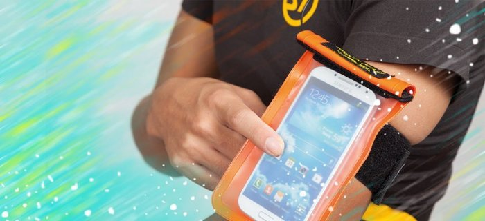 日本StreamTrail防水包 Nude FIT手機專用防水袋-慢跑運動騎自行車機車等活動必備-限量版