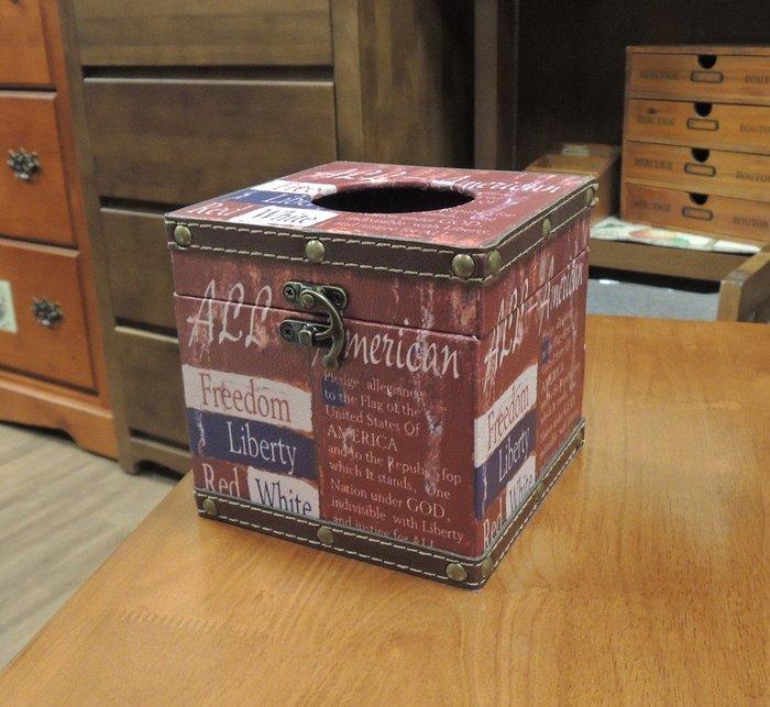 仿舊工業風面紙盒  仿舊印刷品面紙盒 彩圖皮革木製小面紙盒 捲筒式衛生紙盒 方型面紙盒 小面紙盒 小餐巾紙盒面紙套