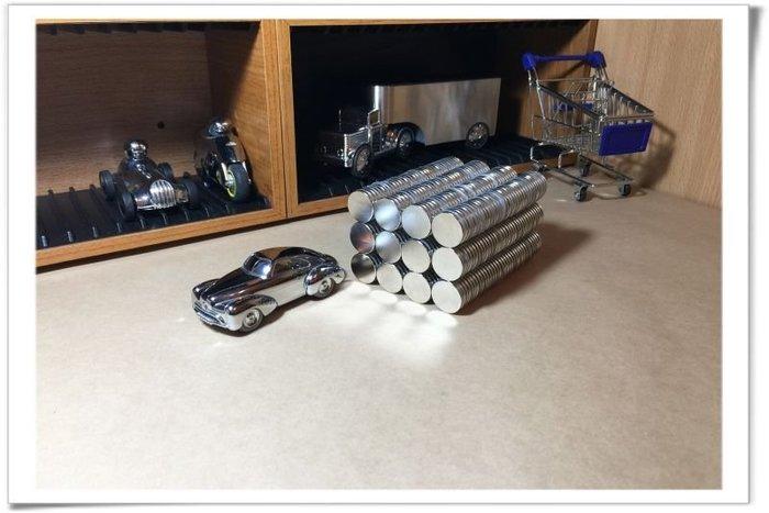 釹鐵硼磁鐵圓形20mmx2mm-廚房瓶瓶罐罐收納好幫手!