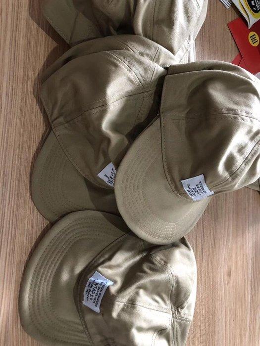 wtaps 日本18SS新款軍绿卡其色皮帶扣鴨舌帽棒球帽
