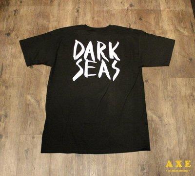 【AXE】DARK SEAS-HALF HITCH T-SHIRT [黑] 街頭 西岸 衝浪 美式短袖 大尺寸 敗者機