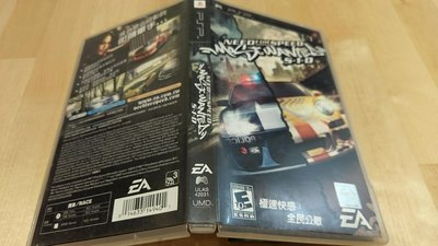 PSP UMD 正版光碟 極速快感 全民公敵