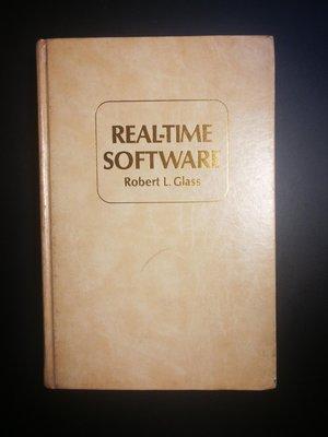 原文電腦書 Real-time Software,Robert L Glass  原版精裝