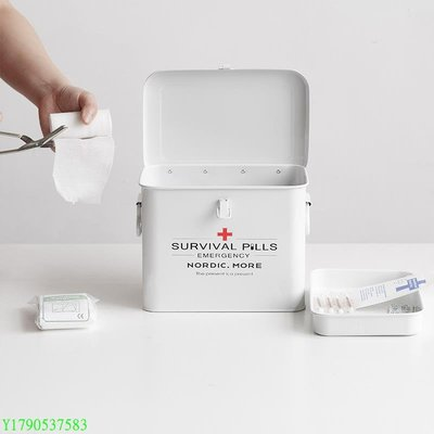 M.D家用便攜急救醫藥箱便攜多層藥品收納盒多功能工具箱 BU#4