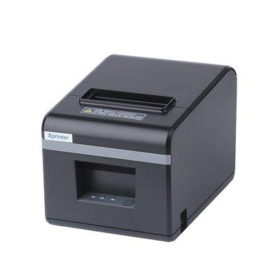 打印機芯燁XP-N160II熱敏打印機80MM廚房后廚打單機收銀外賣票據小票機超市餐飲菜單美團餓了么接單帶切刀xprinter