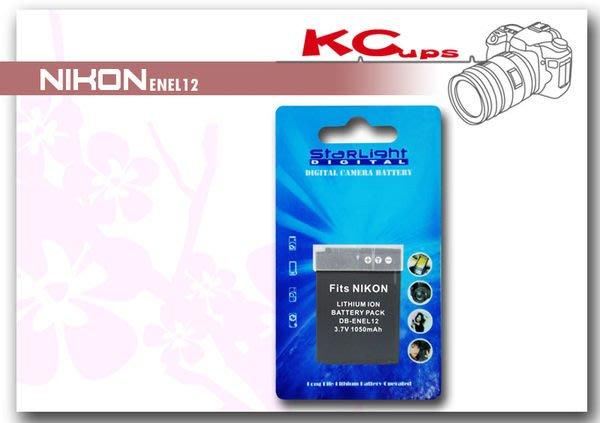 【凱西影視器材】NIKON EN-EL12 ENEL12 鋰電池 S710 S640 S1000PJ S630