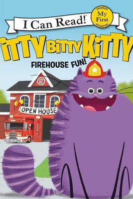*小貝比的家*ICR:ITTY BITTY KITTY FIREHOUSE FUN/MY FIRST/平裝/3~6歲