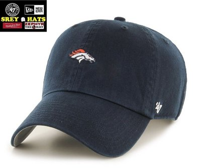 [SREY帽屋]預購*47 Brand CLEAN UP Base Runner 小LOGO NFL 丹佛野馬 老帽