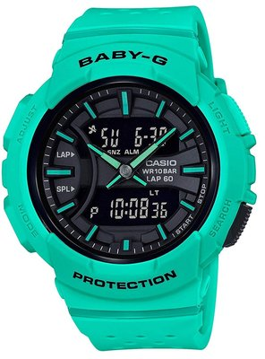 日本正版 CASIO 卡西歐 Baby-G FOR RUNNING BGA-240-3AJF 女錶 女用 手錶 日本代購
