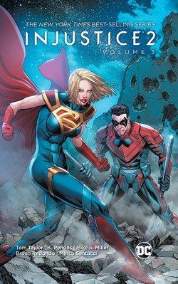 【布魯樂】《12月預購中》[美版書籍] DC超級英雄《不義聯盟2 Injustice》原文漫畫Vol.3(平裝)