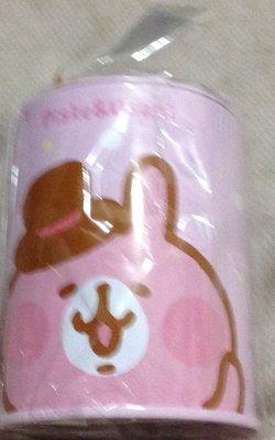 全新正版授權 KANAHEI 卡娜赫拉的小動物 兔兔 P助 可愛小圓存錢筒 撲滿 收納筒 置物筒