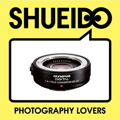 集英堂写真機【全國免運】【預購】OLYMPUS EC-14 EC14 1.4X 原廠加倍鏡 增距鏡 B