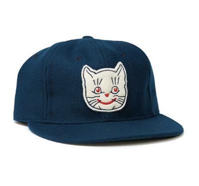 全新 現貨 Ebbets field flannels Kansas City Katz 老帽 棒球帽 調節式 復古 騎士 街頭 經典 海軍藍