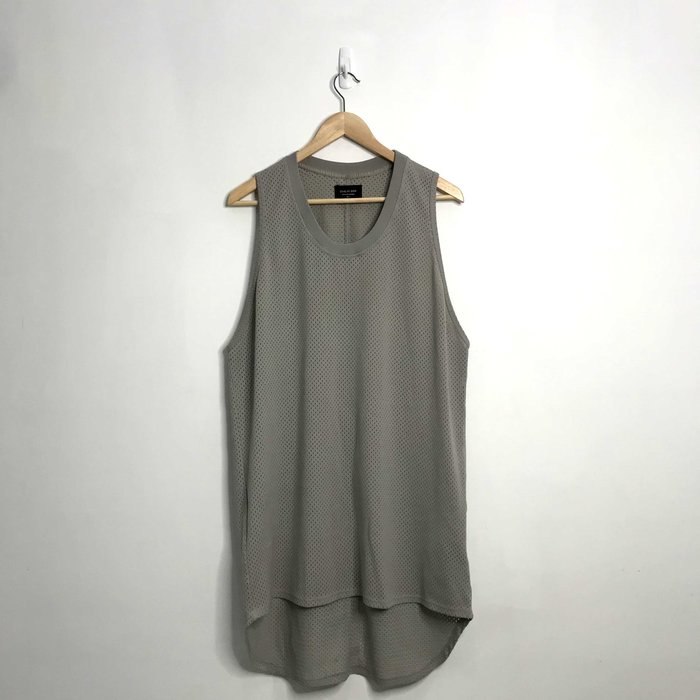 (Used) Fear Of God Fifth Collection Mesh Tank 灰色 背心 網狀 素面 現貨