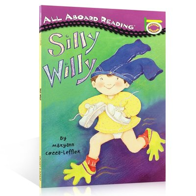 英文原版繪本 Silly Willy 汪培珽書單1一階段 i can read 進口兒童圖書英語啟蒙入門故事書籍正版 可