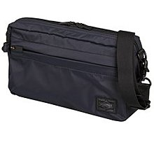 momo日本製PORTER TOKYO JAPAN黑色black防水斜咩袋shoulder bag腰袋hip pouch側背包waist孭揹肩travel旅行