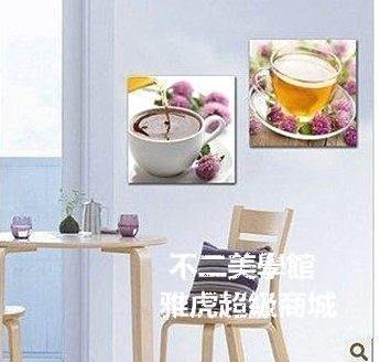 【格倫雅】^欧式墙画杯子挂画|现代简约餐厅装饰画|时尚室内家居无框画壁画73030[D