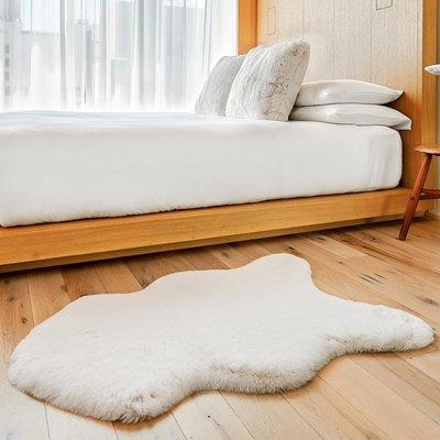 美兒小舖COSTCO好市多線上代購~Mon Chateau 仿毛皮地毯60x99公分(1入)