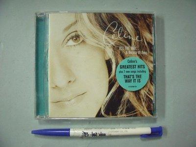 【姜軍府影音館】《Celine Dion ALL THE WAY... A Decade of Song CD》席琳狄翁