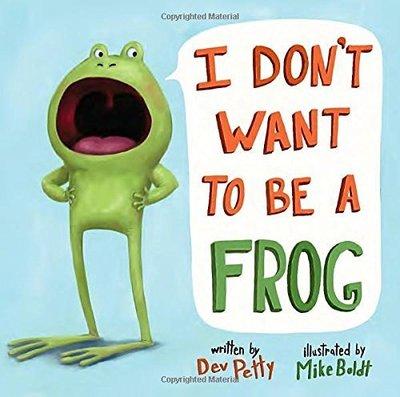 *小P書樂園* I Don't Want to be a Frog