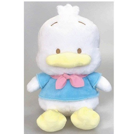 41+現貨不必等 大尺寸 三麗鷗 貝克鴨 粉彩系列 絨毛玩偶娃娃 SANRIO 正版 授權 4165本通 可日本代購