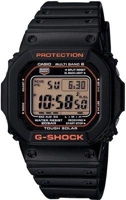 日本正版 CASIO 卡西歐 G-Shock GW-M5610R-1JF 男錶 電波錶 太陽能充電 日本代購
