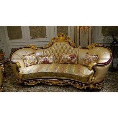 [紅蘋果傢俱] MDS-006 沙發椅 新古典沙發 皮沙發 休閒沙發 現代 歐式沙發 法式沙發 實木沙發