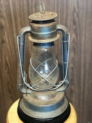 宏順茶苑(梵德藝術)中式老件煤油燈 $1800  藝術品