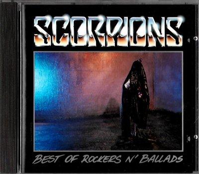蠍子合唱團Scorpions / Best Of Rockers N' Ballads