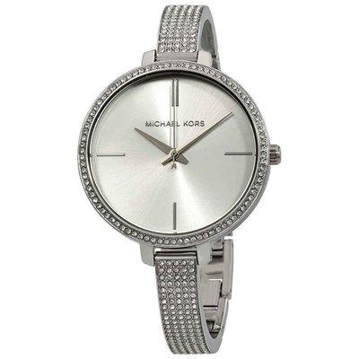 【換日線】女錶 Michael Kors Jaryn Silver Dial Ladies Watch MK3783