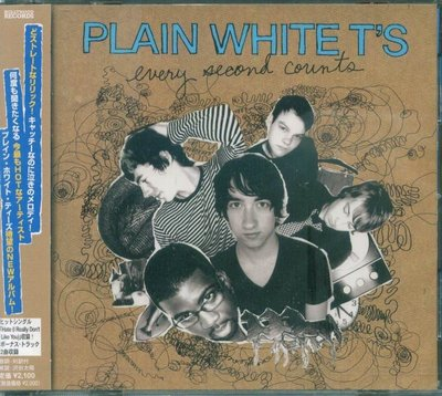 K - Plain White T's Every Second Counts - 日版 CD+2BONUS - NEW