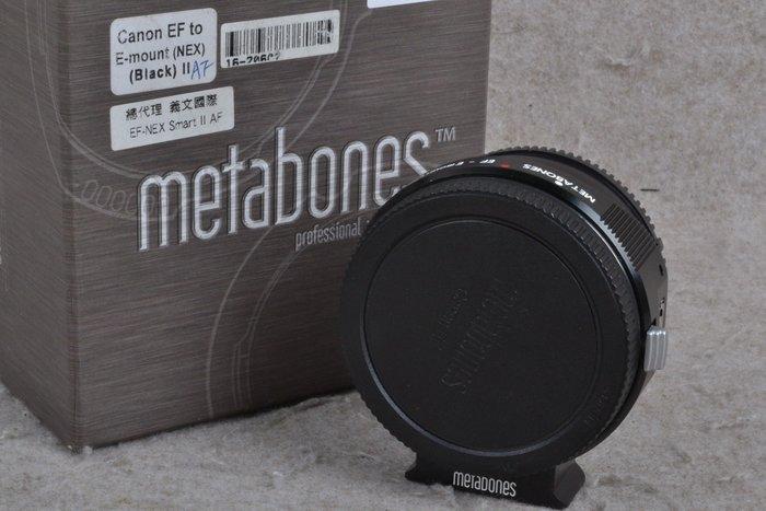 【品光數位】Metabones Canon to SONY E 轉接環 SMART MARK II AF #59926K